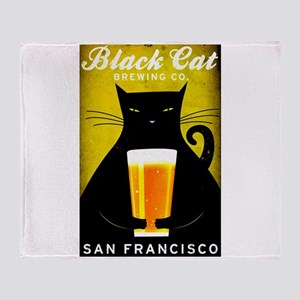 Black Cat Brewing Co. Throw Blanket