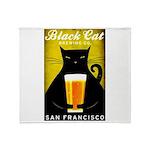 Black Cat Brewing Co. Throw Blanket