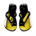 Black Cat Brewing Co. Flip Flops