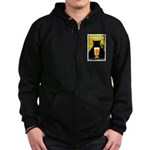Black Cat Brewing Co. Zipped Hoodie