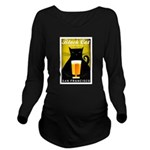 Black Cat Brewing Co. Long Sleeve Maternity T-Shir