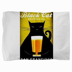 Black Cat Brewing Co. Pillow Sham
