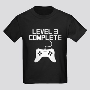 Level 3 Complete 3rd Birthday T-Shirt