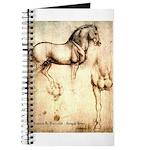 Leonardo da Vinci Study of Horses Journal