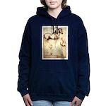 Leonardo da Vinci Study of Horses Women's Hooded S