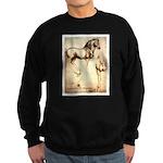 Leonardo da Vinci Study of Horses Sweatshirt