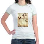Leonardo da Vinci Study of Horses T-Shirt