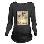 Leonardo da Vinci Study of Horses Long Sleeve Mate