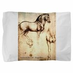Leonardo da Vinci Study of Horses Pillow Sham