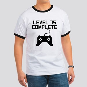 Level 75 Complete 75th Birthday T-Shirt