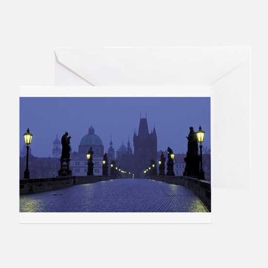 Charles Bridge Prague Greeting Cards