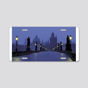 Charles Bridge Prague Aluminum License Plate