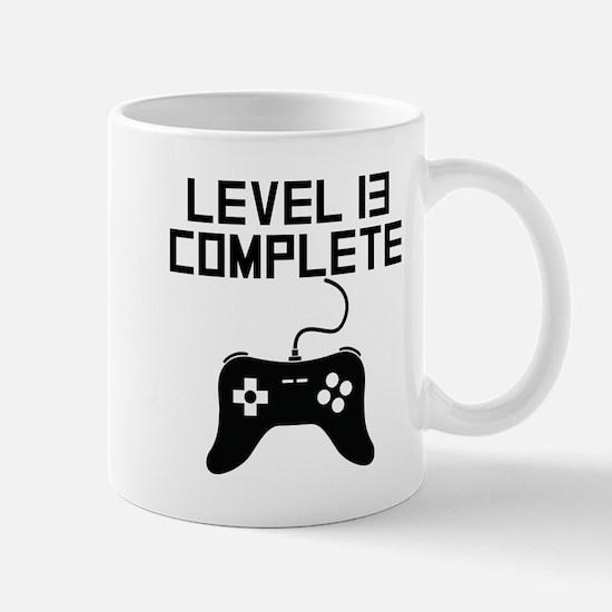Level 13 Complete 13th Birthday Mugs