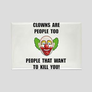 Clown Kill Magnets