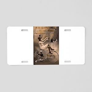 Absinthe Liquor Aluminum License Plate