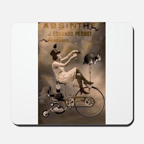 Absinthe Liquor Mousepad