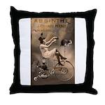 Absinthe Liquor Throw Pillow