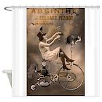 Absinthe Liquor Shower Curtain