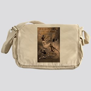 Absinthe Liquor Messenger Bag