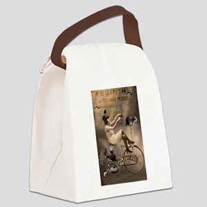 Absinthe Liquor Canvas Lunch Bag