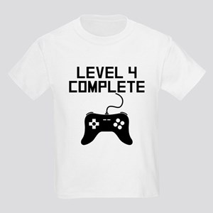 Level 4 Complete 4th Birthday T-Shirt