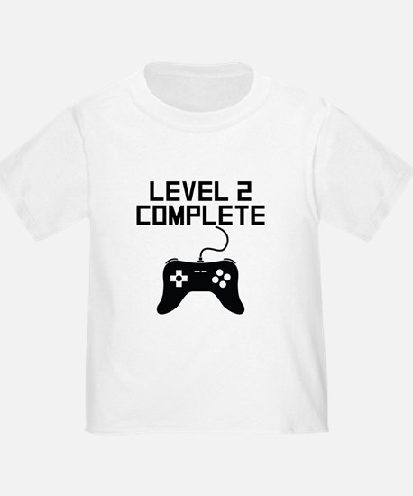 Level 2 Complete 2nd Birthday T-Shirt