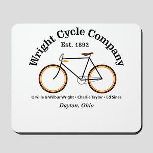 Wright Bicycle Company Mousepad