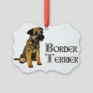 Border Terrier Ornament