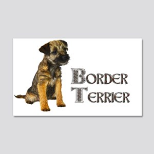 Border Terrier Wall Decal