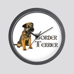 Border Terrier Wall Clock