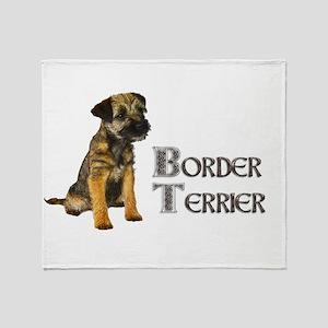 Border Terrier Throw Blanket