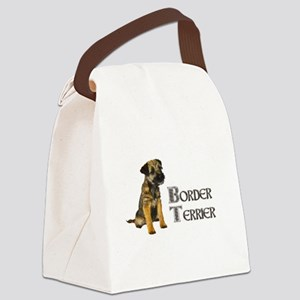 Border Terrier Canvas Lunch Bag