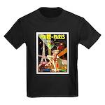 Foire De Paris Vintage Travel Poster T-Shirt