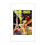 Foire De Paris Vintage Travel Poster Poster Print