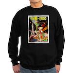 Foire De Paris Vintage Travel Poster Sweatshirt