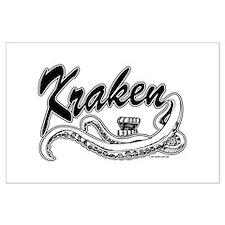 Kraken @ eShirtLabs.Com Large Poster