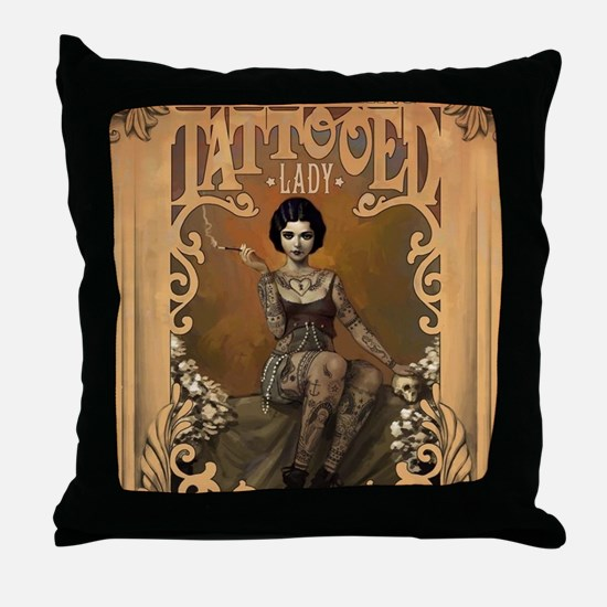 Cute Vintage Throw Pillow