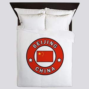 Beijing China Queen Duvet