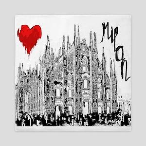 I love Milan Queen Duvet