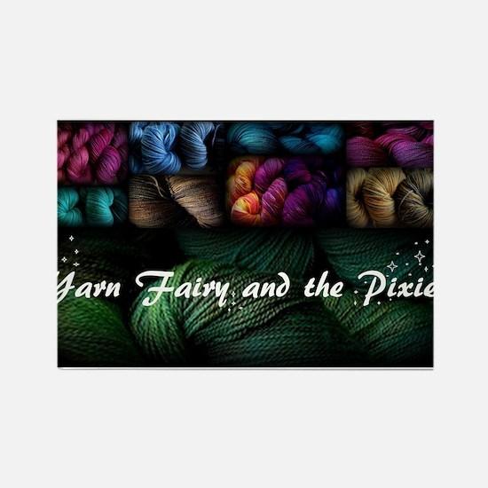 Yarn Fairy Magnets