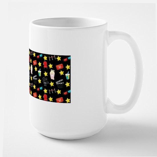 Movie Themed Items Pattern Mugs