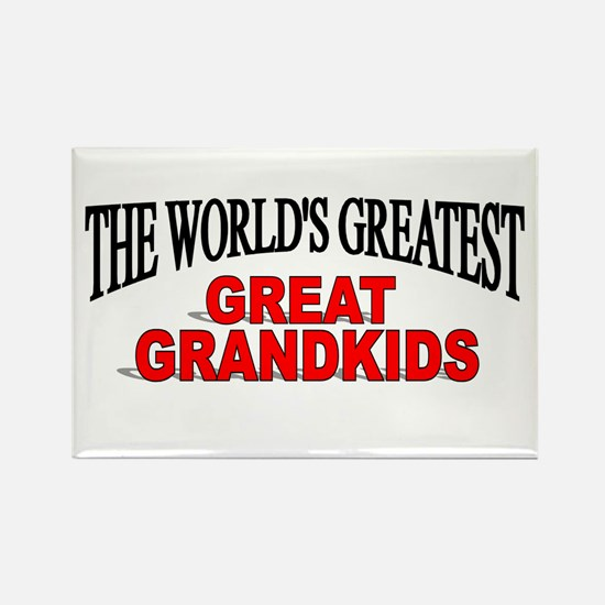 """""""The World's Greatest Great Grandkids"""" Rectangle M"""