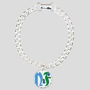 NF single design-white.J Charm Bracelet, One Charm
