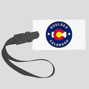 Boulder Colorado Large Luggage Tag