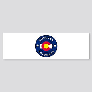 Boulder Colorado Bumper Sticker