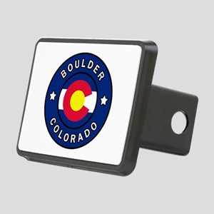 Boulder Colorado Rectangular Hitch Cover