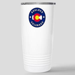 Boulder Colorado Stainless Steel Travel Mug