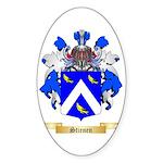 Stienen Sticker (Oval)