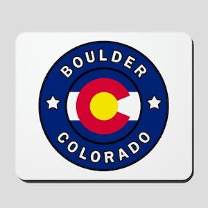 Boulder Colorado Mousepad