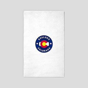 Boulder Colorado Area Rug
